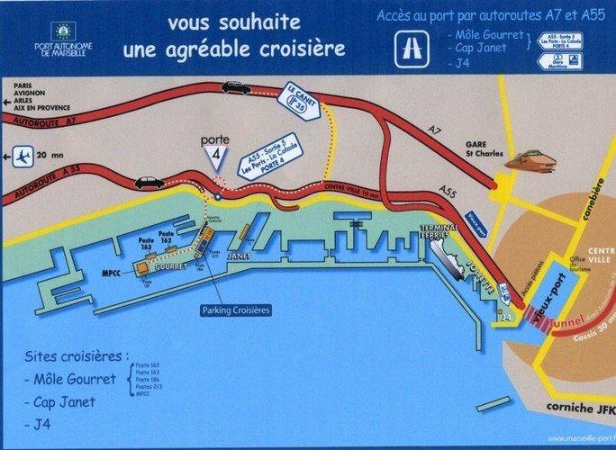Port de marseille all agences for Porte 4 cap janet